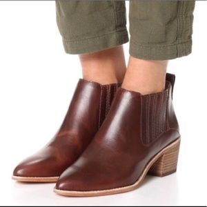 Madewell Boots in Cherry Wood Size 6 (Never Worn)